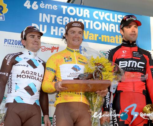 Campeones de puntos /Regularidad /metas volantes 2014 Tour_haut_var_podio_final_2014_sirotti
