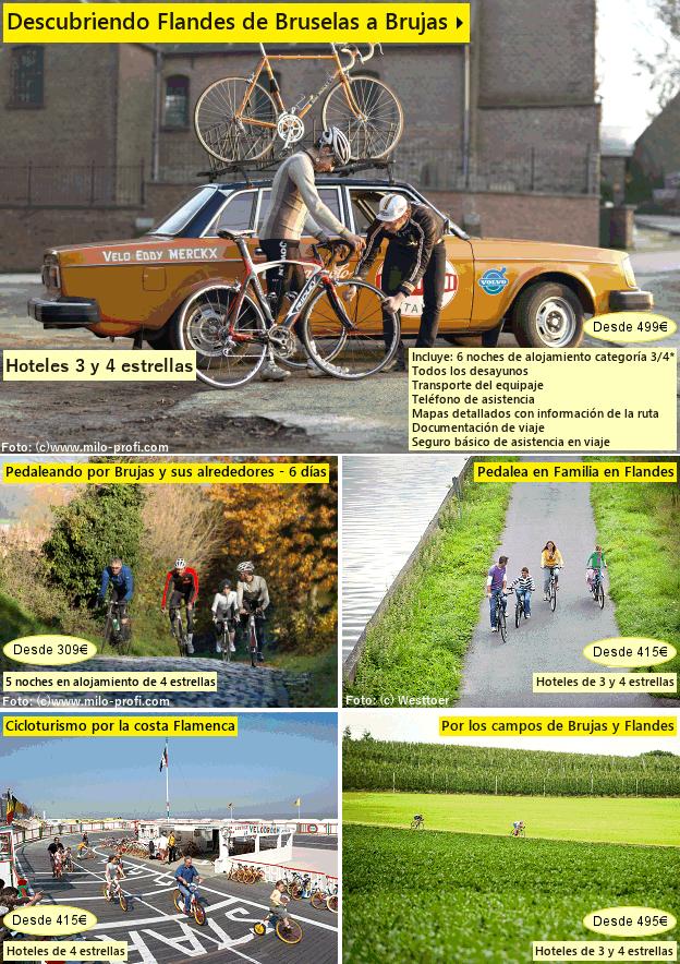Descubriendo Flandesen bicicleta