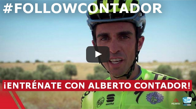 #FOLLOWCONTADOR ¡ENTRÉNATE CON ALBERTO CONTADOR!