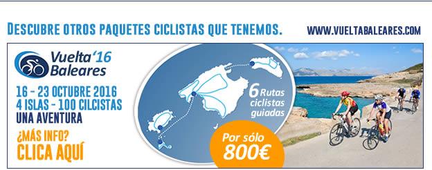 Vuelta cicloturista a Baleares 2016