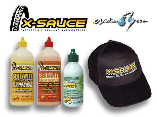 Lote de productos X-Sauce