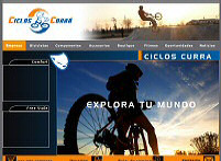 Ciclos Currá. The cycling center
