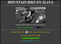 Mountain Bike en Álava
